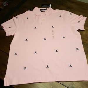 NWT Polo Ralph Lauren Custom Slim Fit Polo Lg